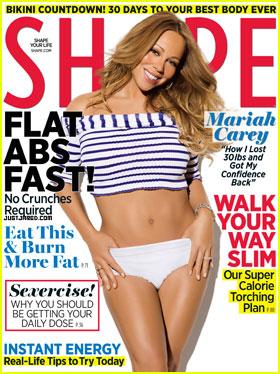 Mariah Carey Covers 'Shape' May 2012