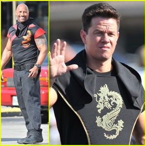 Mark Wahlberg: 'Pain and Gain' Shoot with Dwayne Johnson