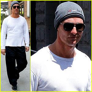 Matthew McConaughey: Wednesday Workout
