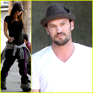 Megan Fox: Lunch Date with Brian Austin Green!