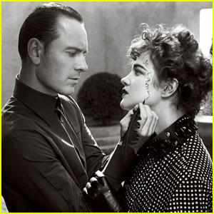 Michael Fassbender: 'Vogue' Feature with Natalia Vodianova!