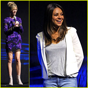 Mila Kunis & Brooklyn Decker: Universal at CinemaCon!