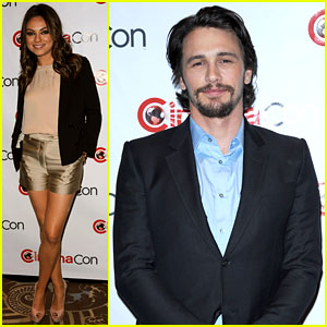 Mila Kunis & James Franco Bring 'Oz' to CinemaCon