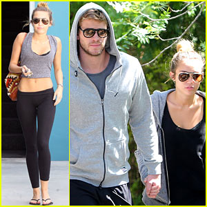 Miley Cyrus: Toned Pilates Tummy!