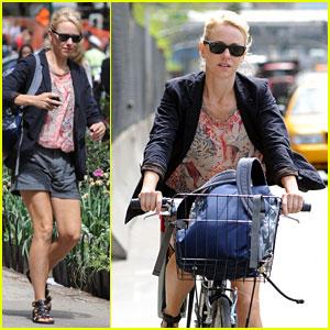 Naomi Watts: Cozy Biker Chic