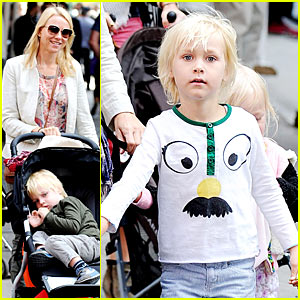 Naomi Watts: Out With the Kids in NYC!