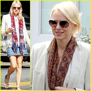 Naomi Watts: Brentwood Lunch Lady!