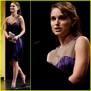 Natalie Portman: Elie Wiesel Tribute Dinner Speaker!