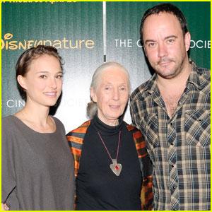 Natalie Portman: 'Chimpanzee' Screening with Jane Goodall!