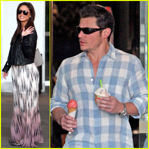 Nick Lachey & Vanessa Minnillo: Ice Cream Stop!