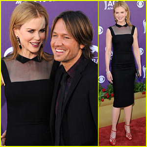 Nicole Kidman & Keith Urban - ACM Awards 2012 Red Carpet