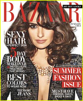 Penelope Cruz: 'Harper's Bazaar' May 2012 Cover!