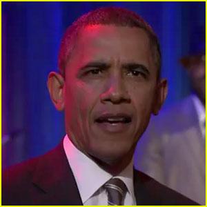 President Obama Slow Jams the News on 'Fallon'