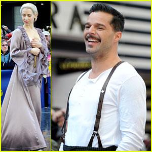 Ricky Martin & Elena Roger: 'Evita' Performance on GMA