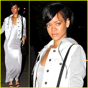 Rihanna: Moving to London?
