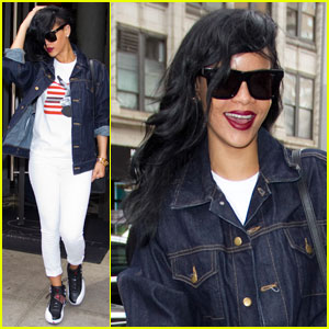 Rihanna: White Hot in NYC
