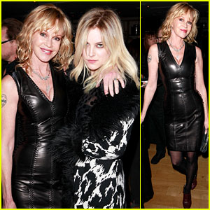 Riley Keough: NY Rescue Workers Event with Melanie Griffith!