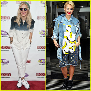 Rita Ora's Fashion - Bananas!