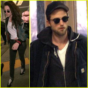 Robert Pattinson & Kristen Stewart: 'Breaking Dawn 2' Set Arrival!