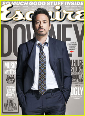 Robert Downey Jr. Covers 'Esquire' May 2012