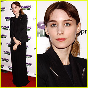Rooney Mara: 'Magic/Bird' Opening Night!