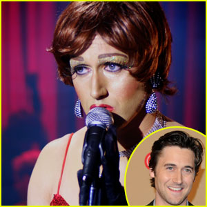Ryan Eggold: Drag in 'Queen' - Exclusive!