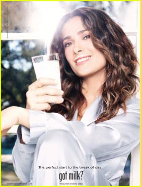 Salma Hayek: New 'got milk?' Ad!