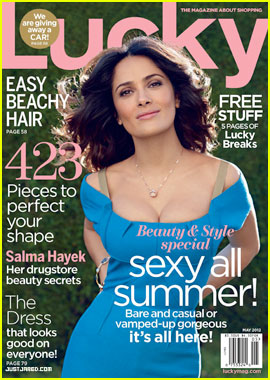 Salma Hayek: Acne Caused 'Severe, Severe Depression'