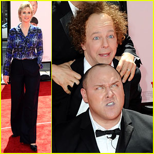 Sean Hayes & Jane Lynch: 'Three Stooges' Premiere!