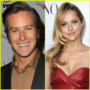 Armie Hammer & Teresa Palmer: 'Cut Bank' Co-Stars!