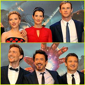 'Avengers' Cast: European Premiere!