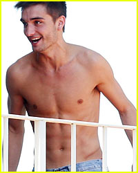 The Wanted's Tom Parker: Shirtless Fun!