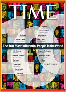 Rihanna, Duchess Kate & Adele Make 'Time' 100 List