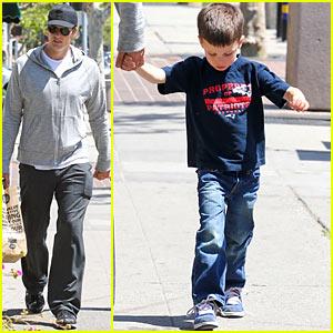 Tom Brady: Whole Foods with Son John!