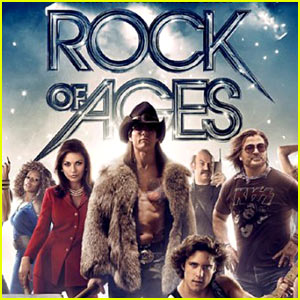 Tom Cruise: Shirtless for 'Rock of Ages' Poster!