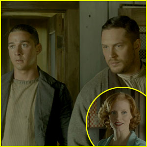 Tom Hardy Jessica Chastain Lawless