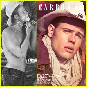 Trevor Donovan: Shirtless for 'Carbon Copy'
