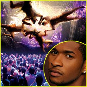 Usher: Fuerza Bruta's New Cast Member!