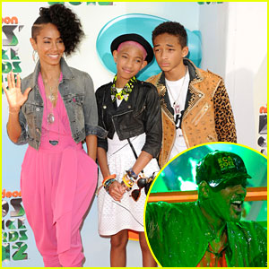 Will, Jada, Jaden, & Willow Smith - Kids' Choice Awards 2012