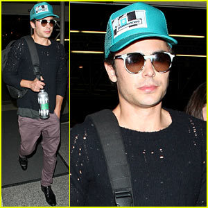 Zac Efron: Later, L.A.!