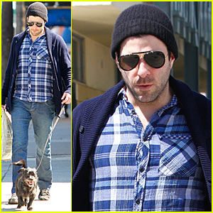 Zachary Quinto: Doggie Errands!