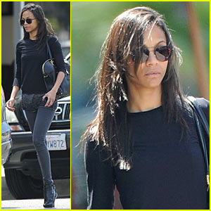 Zoe Saldana: Grub and Go!