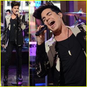 Adam Lambert: 'Good Morning America'