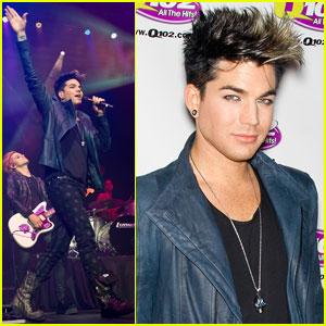 Adam Lambert to Kris Allen: Great Job on New Album!