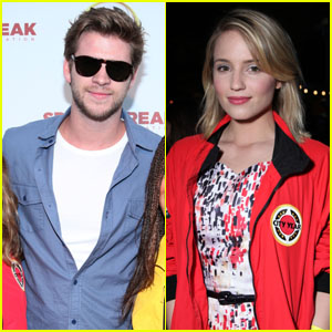 Dianna Agron & Liam Hemsworth: Destination Education Event