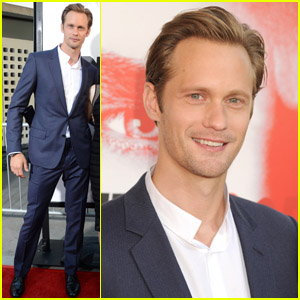 Alexander Skarsgard: 'True Blood' Premiere!