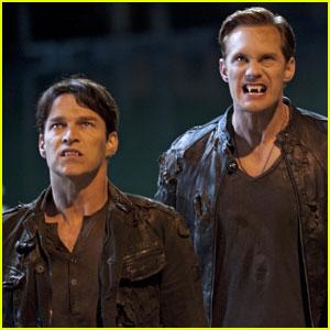 Alexander Skarsgard: 'True Blood' Season 5 Promo Pics!