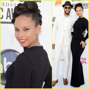Alicia Keys: Billboard Awards 2012 with Swizz Beatz!