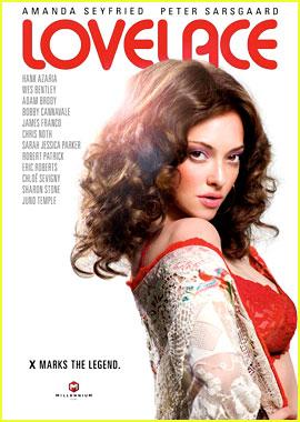 Amanda Seyfried: 'Lovelace' Poster Revealed!