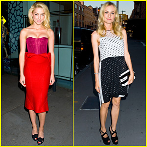 Amber Heard & Diane Kruger: 'The Conversation' Launch!